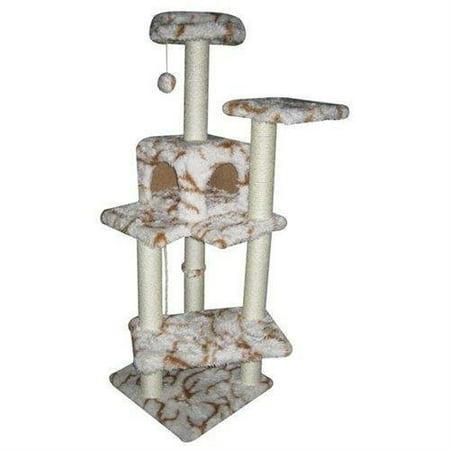 Bestpet 60   Fashion Cat Tree Condo Furniture Scratch Post Pet House