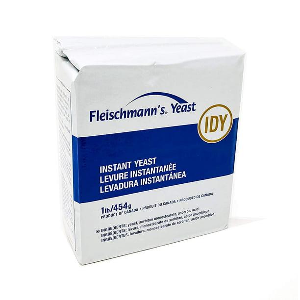 Fleischmann S Instant Dry Yeast 1lb Walmart Com Walmart Com