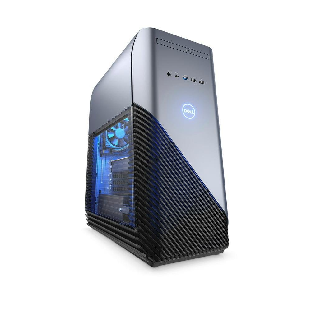 Dell Inspiron Gaming Desktop 5680, Intel Core i7-8700, NVIDIA GeForce GTX 1060, 1TB HDD Storage, 32GB Total Memory (16GB + 16GB Intel Optane), i5680-7535BLU-PUS