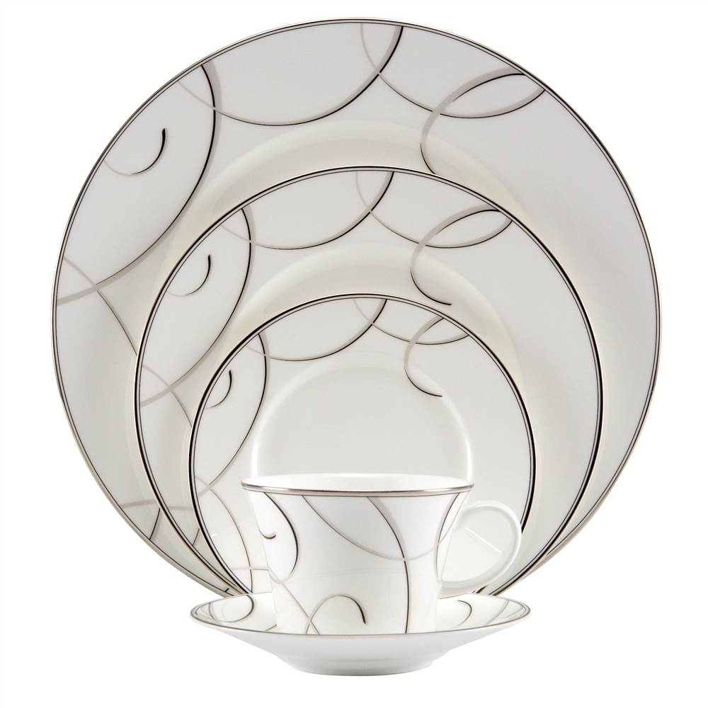 Elegant Swirl 5 Pc Place Setting
