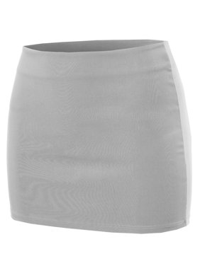FashionOutfit Women's Solid Mini Pencil Skirt
