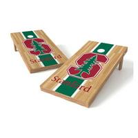 TTXL Shield Hardwood College Stanford Cardinals Bean Bag Toss Game