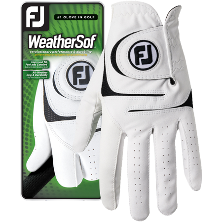 FootJoy Mens WeatherSof Golf Glove, ML