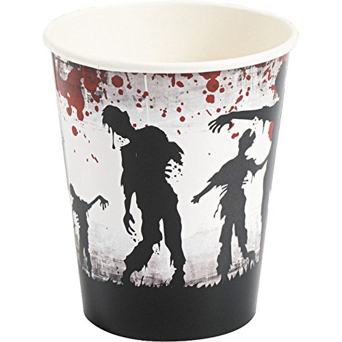 Zombie Party Supplies 9 oz Cups (8 Pack)