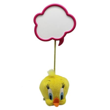 Looney Tunes Tweety Bird Fuzzy Bubble Thoughts Head Figure - Kids Tweety Bird