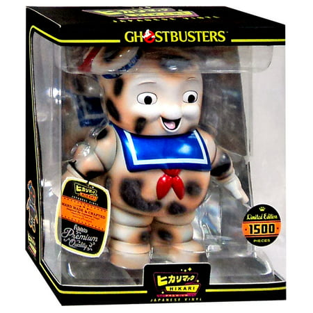 Stay Puft Marshmallow Man Vinyl Figure Burnt Hikari Japanese Vinyl](Ghostbusters Marshmallow Man)