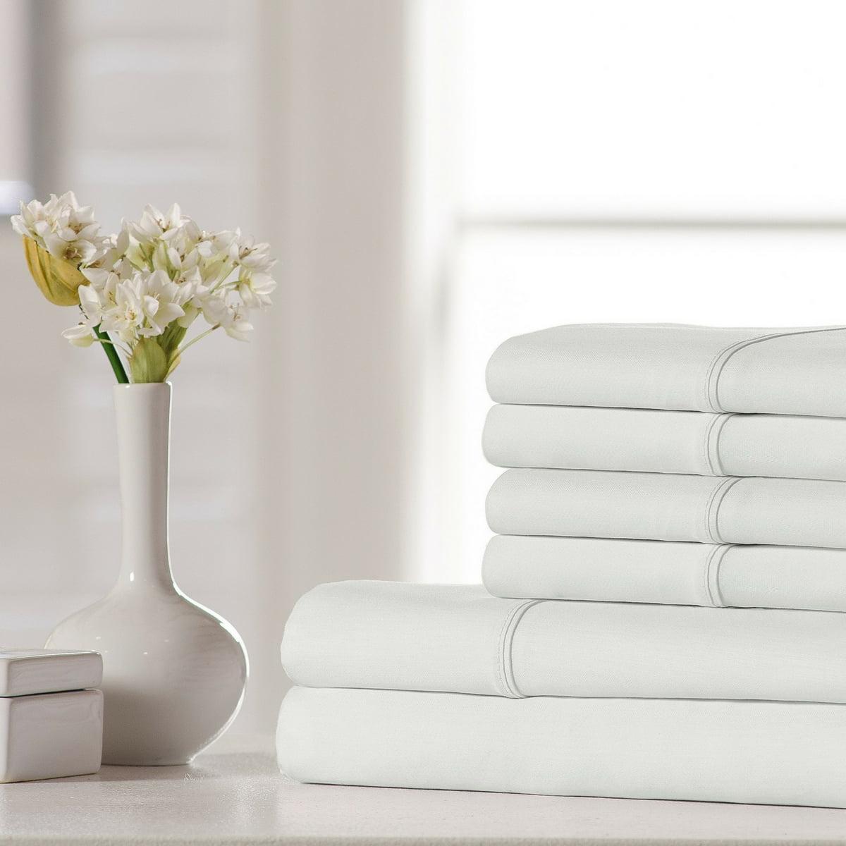 500-Thread Count 100% Cotton 6-Piece Sheet Set