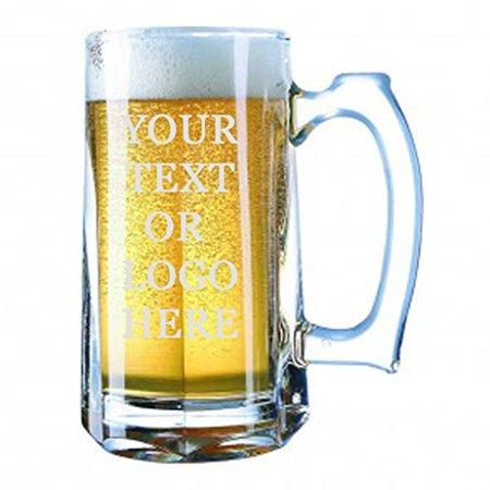 giant custom beer mug 28 ounces personalized beer stein