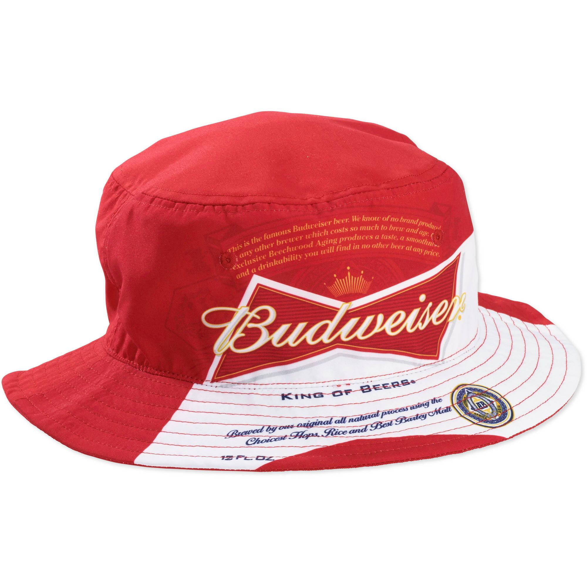 Mens Budweiser Bucket Hat