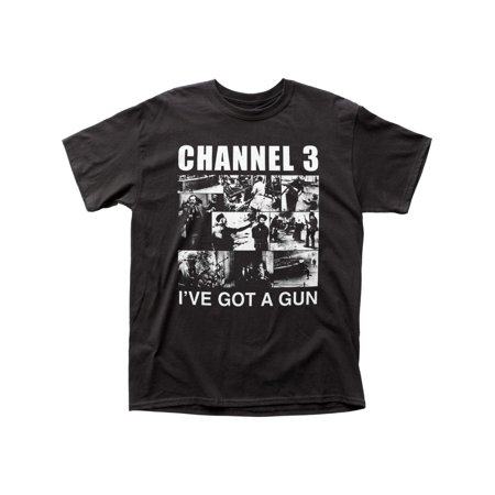 Channel 3 Alternative Indie Music I've Got a Gun Adult Fitted Jersey (Ibex Indie Wool Jersey)