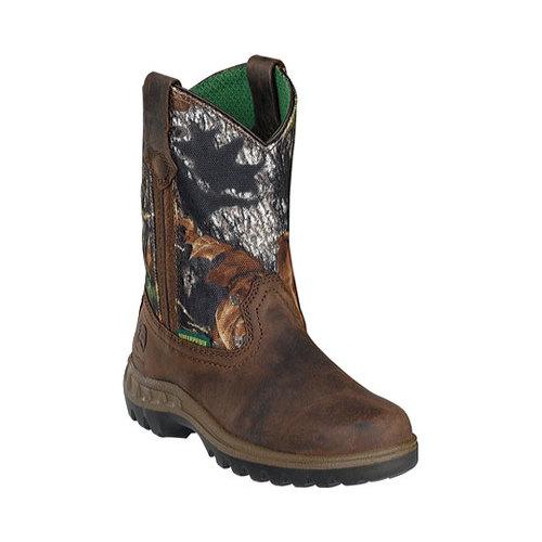 Infant Boys' John Deere Boots Mossy Oak Wellington 2468 by John Deere