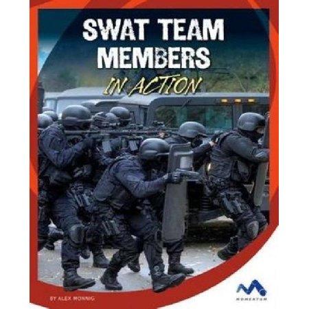Swat Team Members in Action