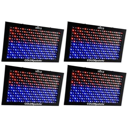 (4) Chauvet Colorpalette LED Panel Light Color Palette,  6 - 27 DMX Channels Chauvet Led Color