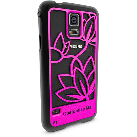 Samsung Galaxy S5 3d Printed Custom Phone Case Lotus Flower Design