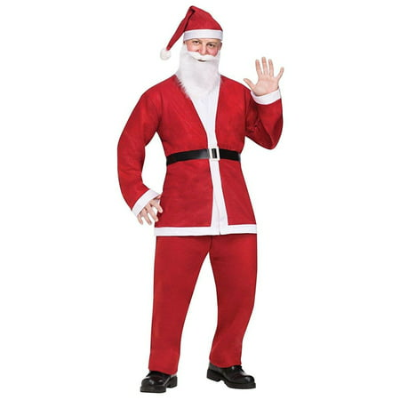 Santa Pub Crawl Adult Costume - One - Santa Costume For Rent