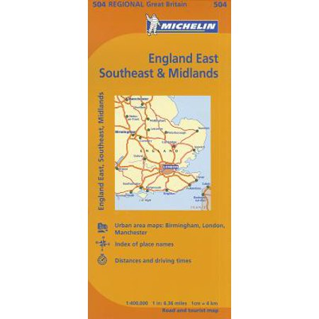 Britain England Map.Michelin Maps Michelin Map Great Britain England East Southeast