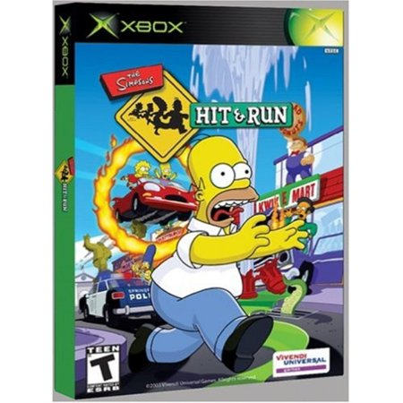 simpsons: hit and run - xbox (The Simpsons Hit And Run Pc Game)