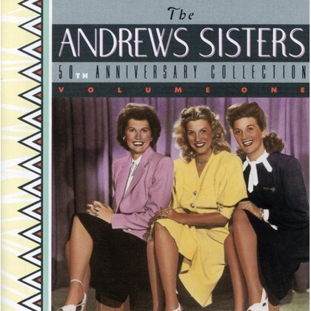 Andrews Sisters - 50th Anniversary [CD] (The Best Of The Andrews Sisters)