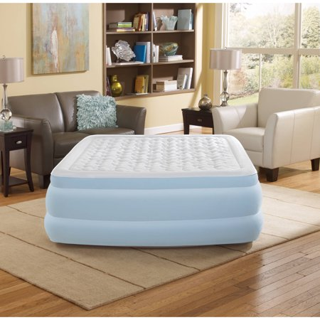 Beautyrest Queen Contour Aire Raised Air Mattress with Hybrid Pump, 1 Each