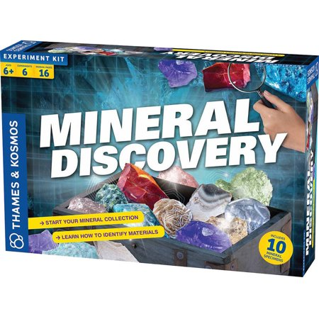 Thames & Kosmos Mineral Discovery Science Experiment Kit
