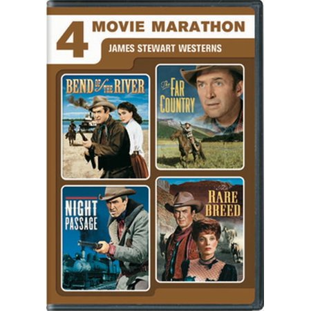 4 Movie Marathon: James Stewart Western Collection (DVD) - Halloween Movie Marathon London