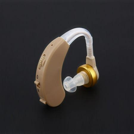 Ear Hearing Aid Kit Adjustable Behind Ear Sound Amplifier Sound Enhancer F-188 - image 2 of 7