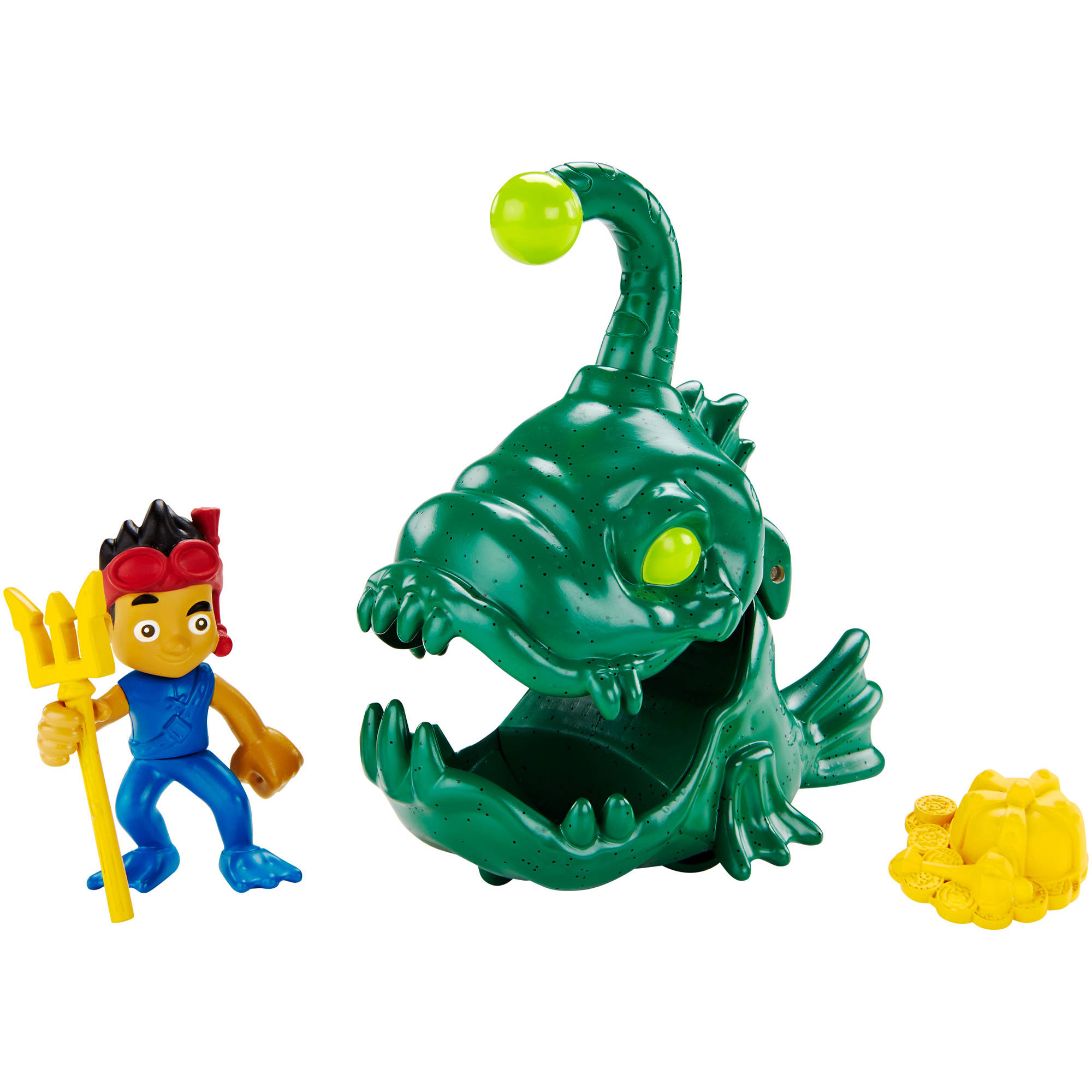 Fisher-Price Jake and The Neverland Pirates Creature Adventure Captain Jake