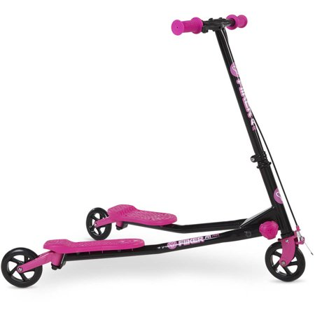 Yvolution Y Fliker A1 Air Scooter Pink