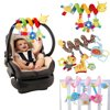 NUOLUX Kid Baby Crib Cot Pram Hanging Rattles Spiral Stroller&Car Seat Toy with Ringing Bell