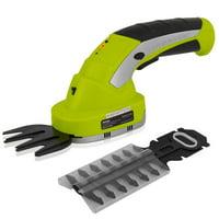 SereneLife PSLTLL1812 Hedger Cordless Handheld Garden Shears-Electrical Hand Held Hedge, Yellow