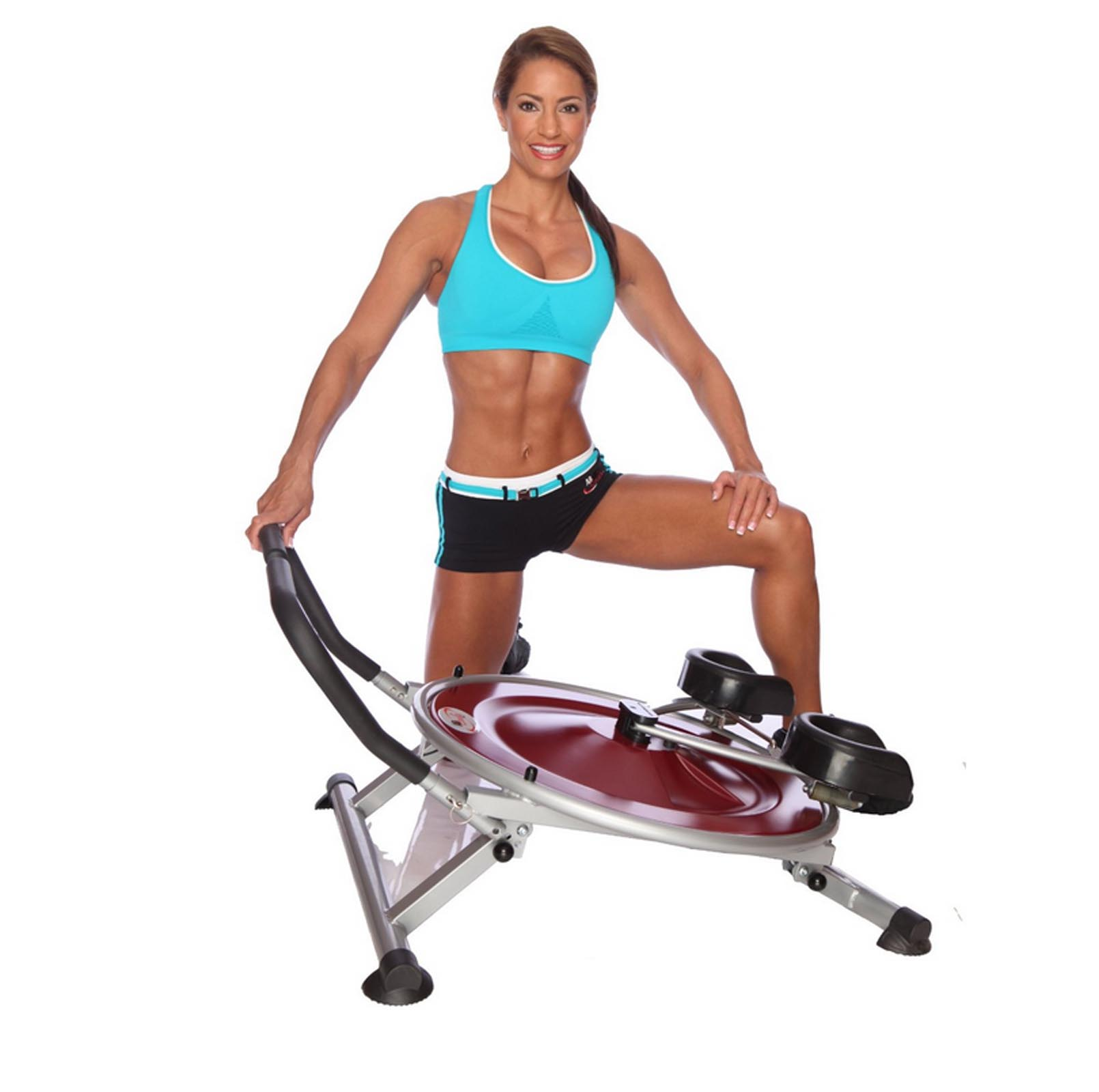 AB Circle Pro Abs And Core Home Exercise Fitness Machine DVD