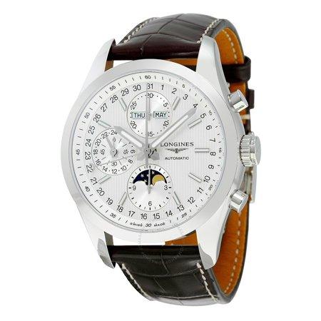 65c85ec57d7 Longines - Longines Conquest White Dial Chronograph Automatic Mens Watch  L27984723 - Walmart.com