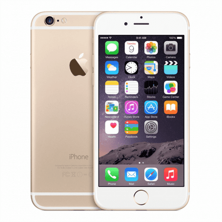 Refurbished Apple iPhone 6 Plus 16GB, Gold - AT&T