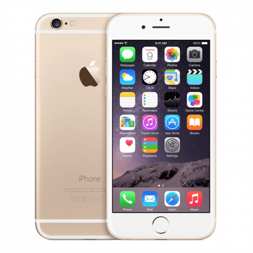 Pre-Owned iPhone 6 Plus Gold AT&T 128GB (MGAR2LL/A) (2014)