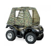 Raider Camo ATV Cab Enclosure With Nylon Construction And Metal Frame