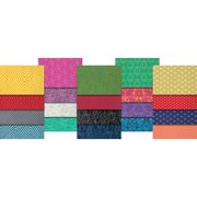 """True Colors-Tula Pink 2.5""""X44"""" Design Roll-40pcs"""