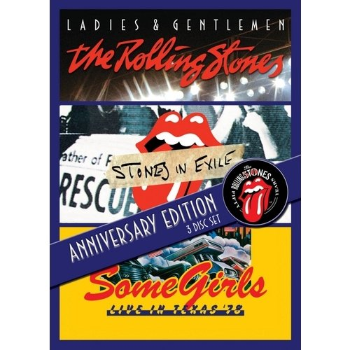 Ladies & Gentlemen/Stones In Exile/Some Girls: Live In Texas (Anniversary Edition) (3 Music DVD)
