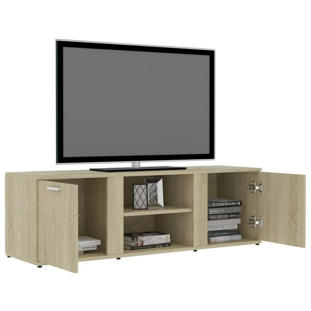 Tv Console Storage Cabinet Retro, Cable Box Storage Cabinet