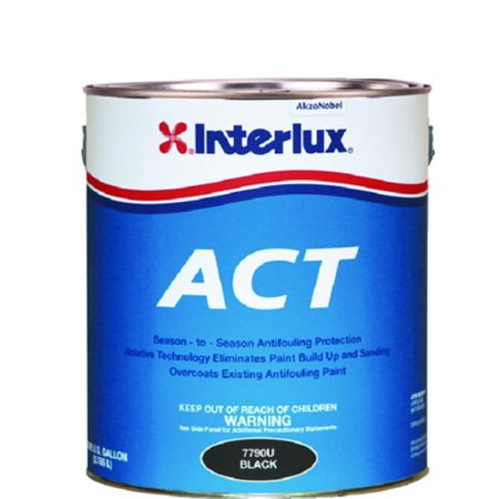 New Fiberglass Bottomkote Act With Slime Fighter interlux Y8890u/1 Brown Gallon (Bottomkote Fiberglass)