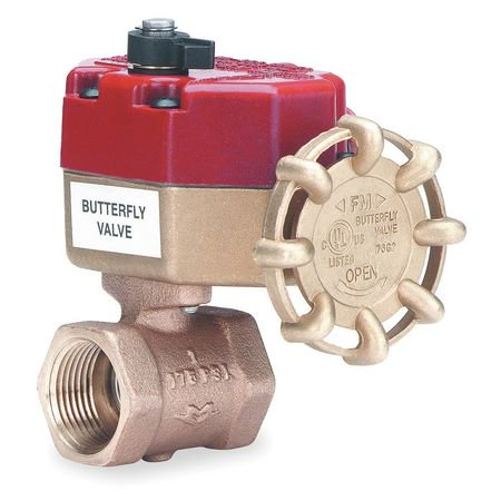 Live Bronze Valve Trim (Milwaukee Valve Butterfly Disc Valve, Bronze, BB-SCS02 1 1/4 )
