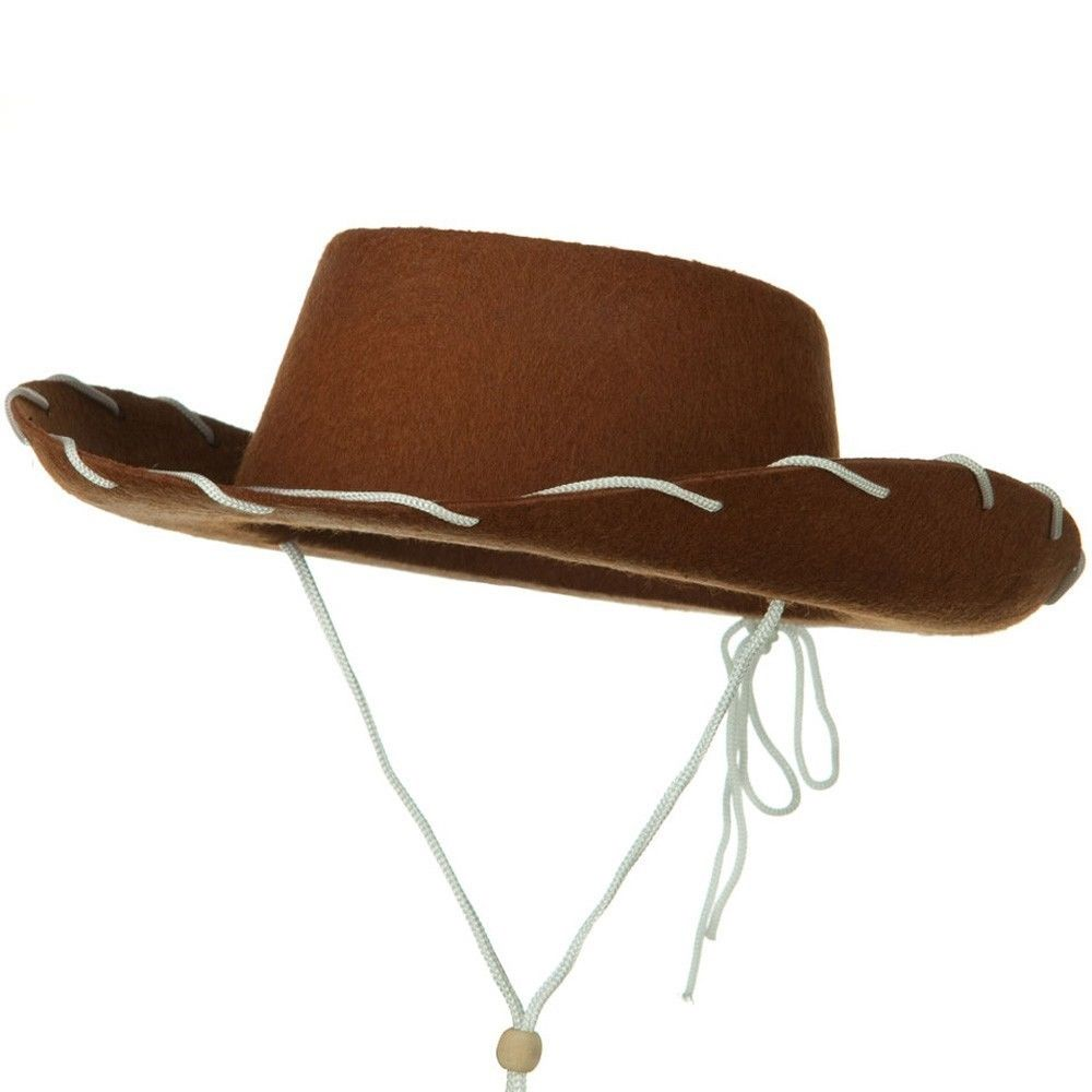 Child Cowboy Cowgirl Hat Toy Story Jessie Woody Western Costume Accessory 1950'S