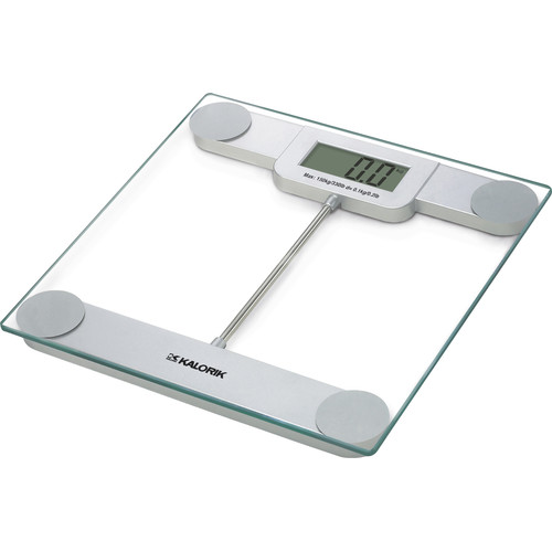 kalorik precision digital bathroom scale, glass - walmart