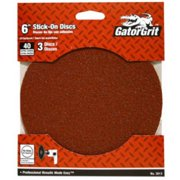 Ali Industries 3013 6 in. 40 Grit Sanding Disc, 3 Pack