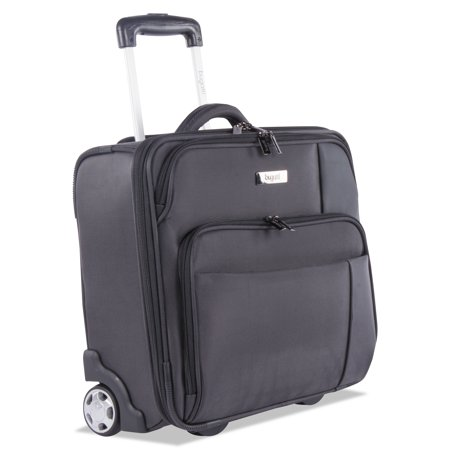 """STEBCO Harry Slim Business Case on Wheels, 15"""" x 4.75"""" x 13.75"""", Polyester, Gray -BUGBZCW302GRY"""