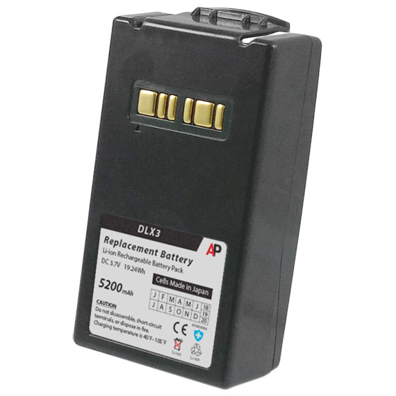 Datalogic Falcon X3 Scanner Replacement Battery. 5200 mAh
