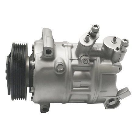 RYC Remanufactured AC Compressor and A/C Clutch FG646 Fits 2006, 2007, 2008, 2009 Volkswagen Jetta Jetta (Volkswagen Jetta Eibach Springs)