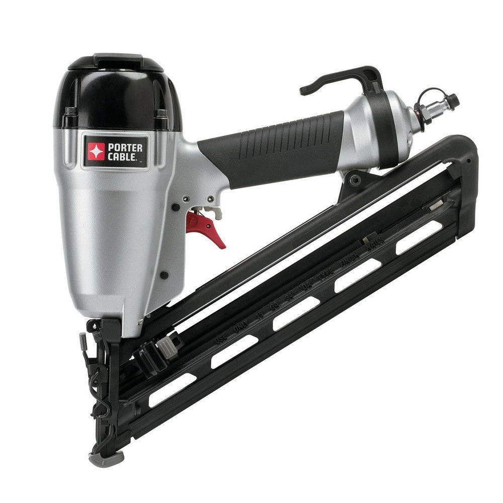 Porter-Cable DA250C 15-Gauge 2 1 2 in. Angled Finish Nailer Kit by Porter Cable