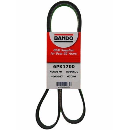 Bando Accessory Drive Belt (Bando 6PK1700 Accessory Drive Belt )