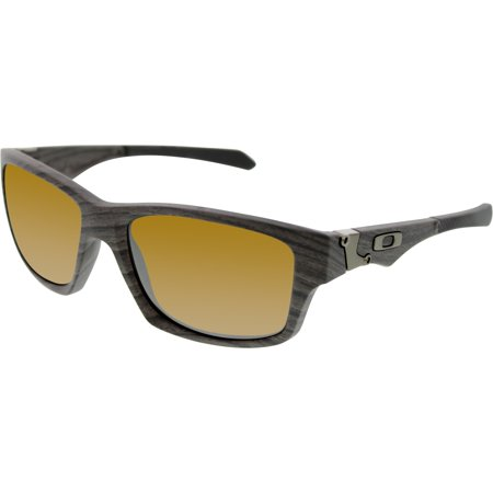 Oakley Men's Polarized Jupiter Squared OO9135-07 Grey Rectangle Sunglasses ()