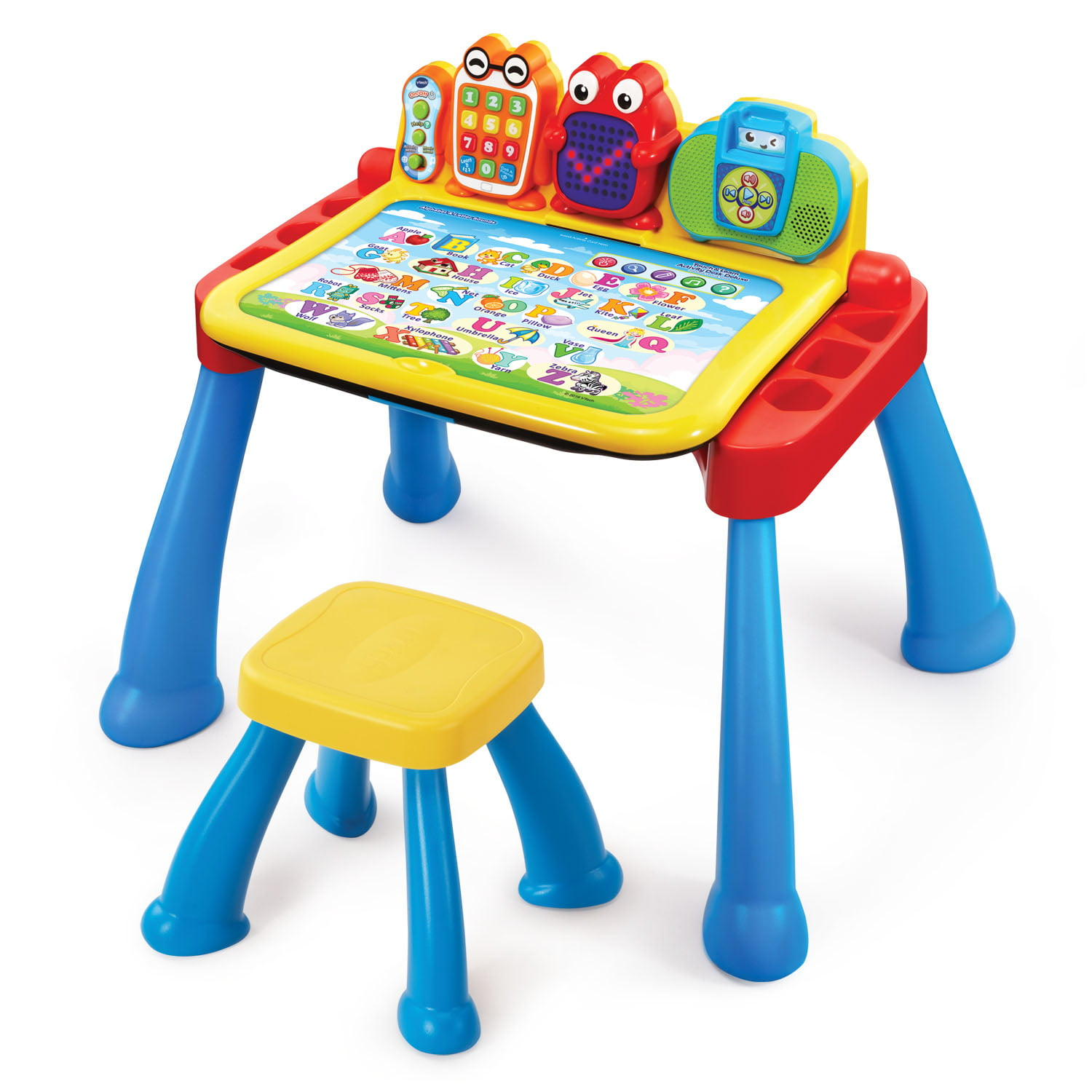 Vtech Touch Learn Activity Desk Deluxe Walmart Com